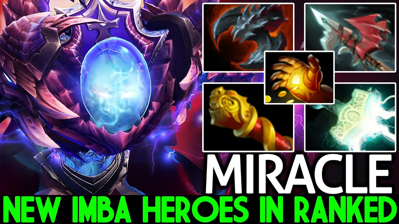 MIRACLE [Arc Warden] New Imba Heroes in Ranked Monster Unleashed Dota 2