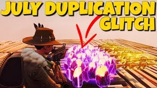 *NEW* JULY Duplication Glitch OMG !! *Not Clickbait* Fortnite Save The World