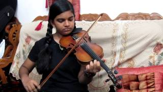 Enthuparanjalum Nee Violin Cover by Abha Trivandrum ( Disciple of Violinist P Chidambaranath)