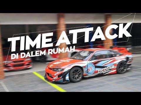 Balapan Time Attack Di Garasi Drift! | Eksperimen Asal Ep. 3