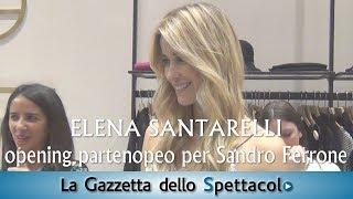 Francesco Russo incontra Elena Santarelli a Napoli per Sandro Ferrone