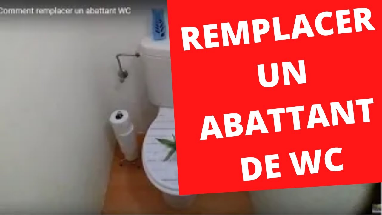 Labattant Wc Clipsable à Frein De Chute Push N Clean By