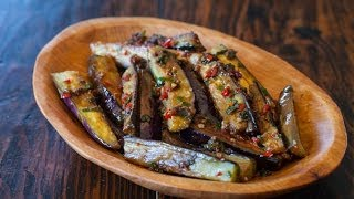 Chinese Eggplant with Spicy Garlic Sauce Recipe
