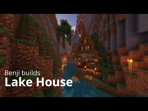 Minecraft: How to make a Lake House