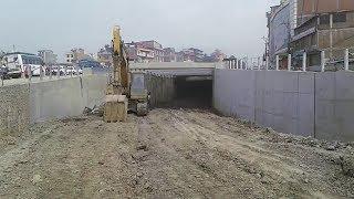 Kathmandu Ring Road Construction, kalanki.