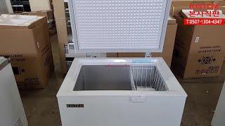 업소용 소형 미니아이스크림 냉동고 140L BD14F …