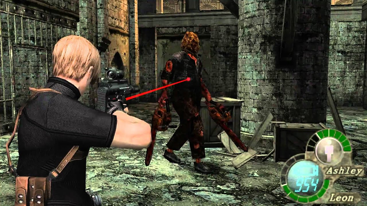 Resident Evil 4 Mod - Chainsaw Avenger - YouTube