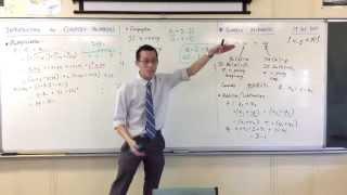 Complex Arithmetic (2 of 2: Conjugates & Division)