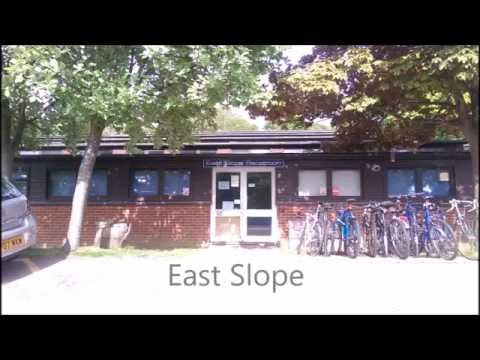 East Slope Accommodation @ University of Sussex