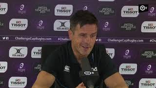 Ospreys TV: Allen Clarke Pau post-match