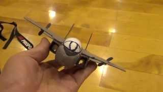 Petit F-14 TOMCAT de bande dessinée d'avion de RC