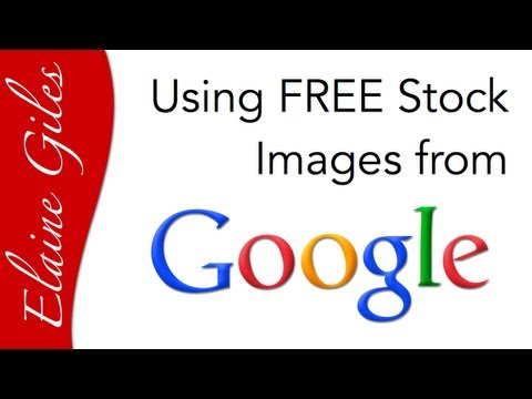 Using FREE Stock Images from Google