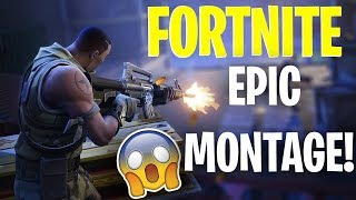 FORTNITE MONTAGE - Amazing Sick Moments! 360 NO SCOPE LAST KILL!?!?