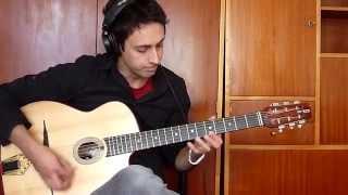 Dark Eyes/Ochi Chernyie (Les yeux noirs) - Gypsy Jazz Style Guitar