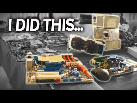 WHY X58 Mobos...? & A PARTS MESS AWAITS THEE...!