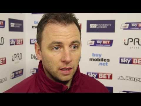 DERBY COUNTY Vs STOKE CITY | Pat Lyons Post-Match