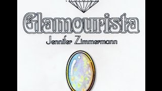Coloring Tutorial: White Opal Gemstone, By Jennifer Zimmermann
