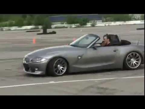 Дрифт на родстере BMW Z4