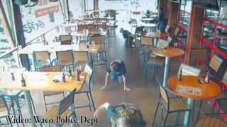 Surveillance video of biker shootout in Waco