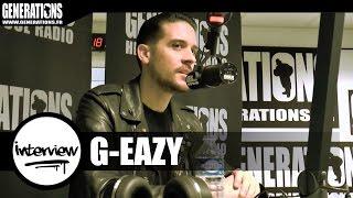 """G-Eazy : """"Les plus belles filles sont à Paris !"""""""