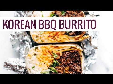 Korean-Style BBQ Beef Burrito