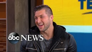 Tim Tebow talks his upcoming wedding and his inspiring new movie | GMA