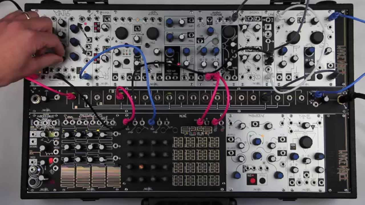 A giant 1906 machine, and the Eurorack synth module it