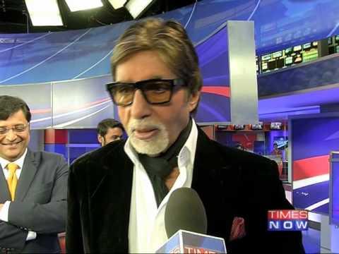 Amitabh Bachchan on Arnab Goswami