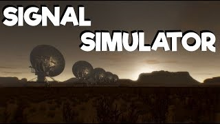Signal Simulator - Scan The Skies in Haunting Isolation