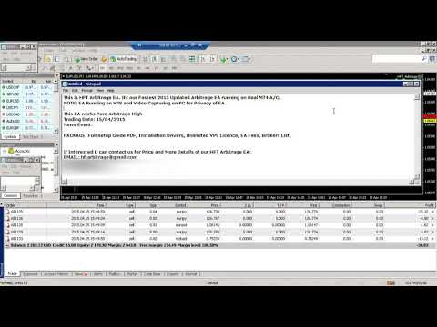 Arbitrage EA REAL ACCOUNT TRADING 03 (HFT ARBITRAGE EA)