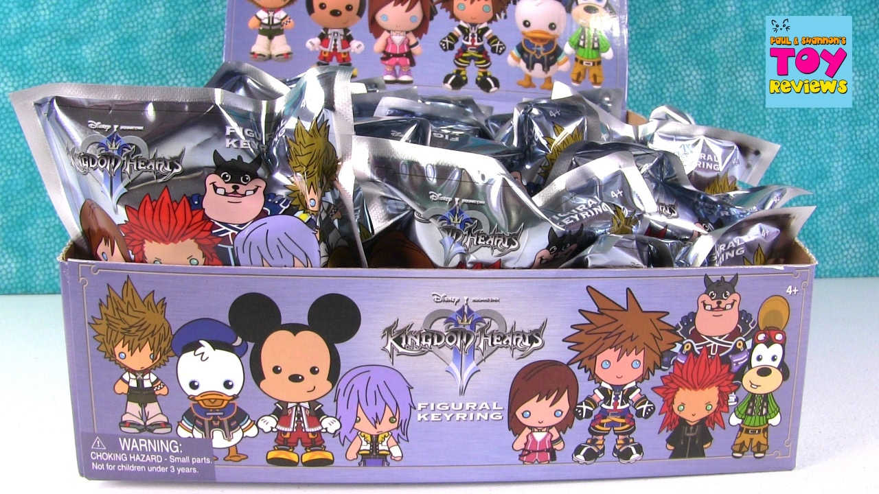 Disney Kingdom Hearts Series 1 Figural Keyring Blind Bags