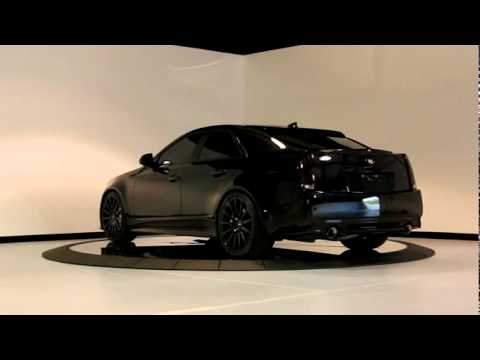 Cadillac Cts V Blacked Out Youtube