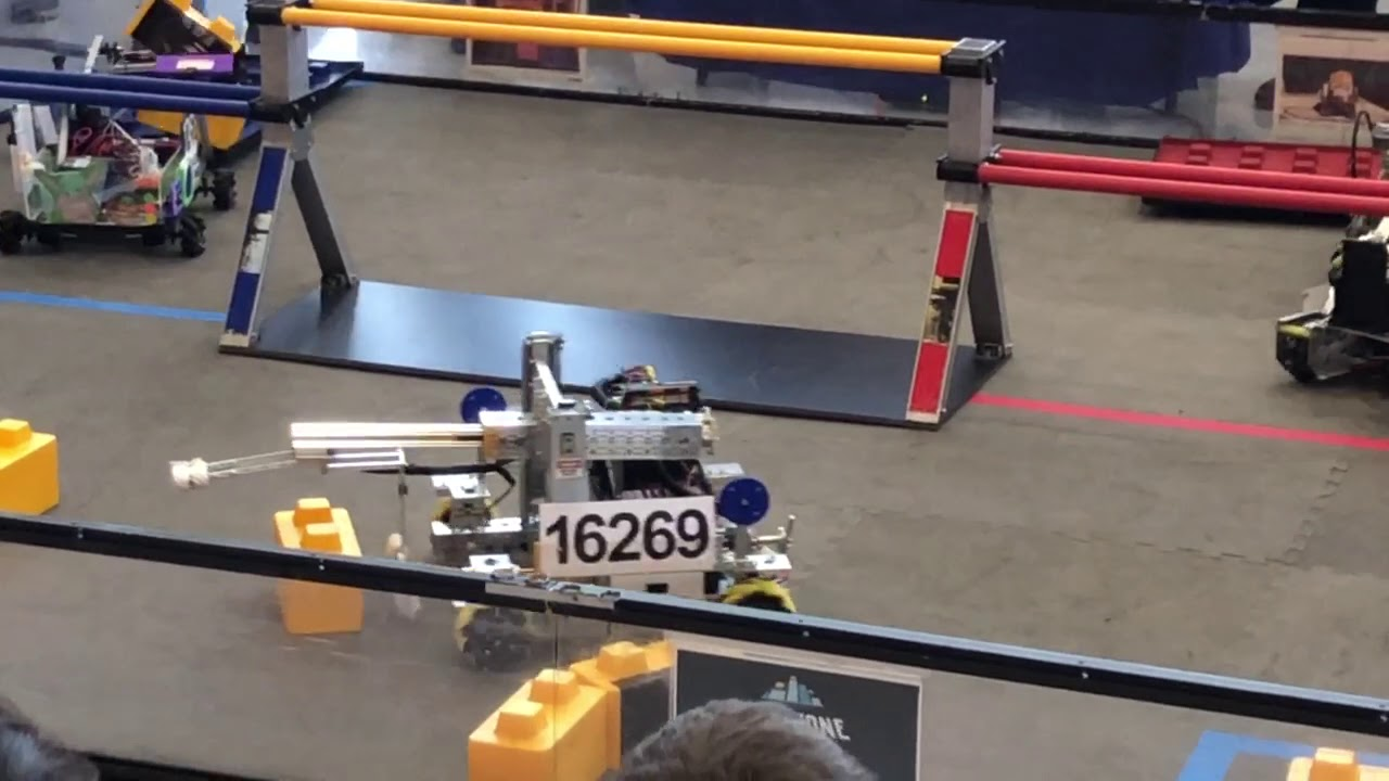 Significant progress made in Robot #16269--sights set on next season!