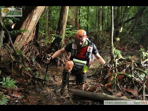 Andy Turner (King of the Jungle) winner of 2016 Amazon Jungle Marathon - 270km