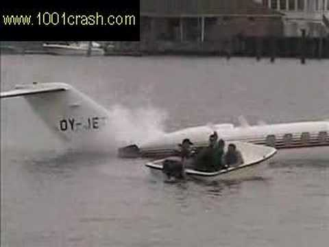 "Jet Airplane Crash In Water ""You won't believe what happens"""