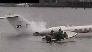 "Jet Airplane Crash In Water ""You won"