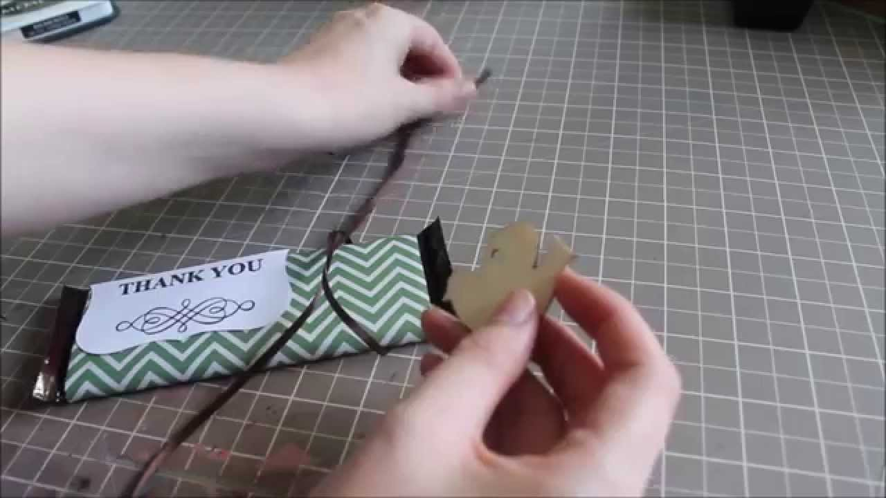 Diy Candy Bar Wrappers Easy Gift Youtube