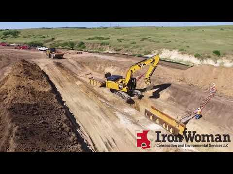 Canyons Offsite Sanitary Sewer Installation  - Iron Woman Construction and Environmental Services