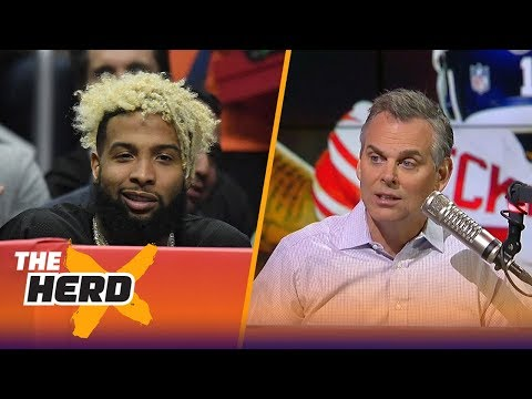 Colin on Odell Beckham Jr.: This is the life I assumed he lived in the off season | THE HERD