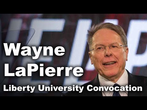 Wayne LaPierre - Liberty University Convocation