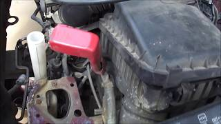 2000 Toyota Corolla Remove Engine and Transmission Part 1