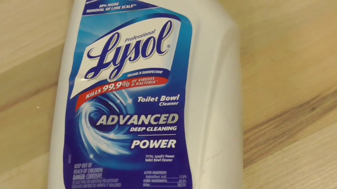 Remove Toilet Stains Lysol Advanced Deep Cleaning Toilet Bowl ...