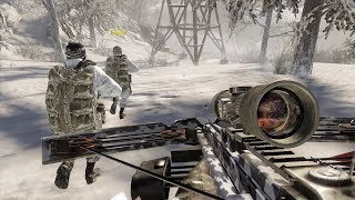 Infiltrating Military Base in the Mountains - WMD Part 2 - Call of Duty: Black Ops