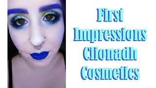First Impressions: Clionadh Cosmetics 66.5º N l After Shock Highlighters l MakeupByAnnki