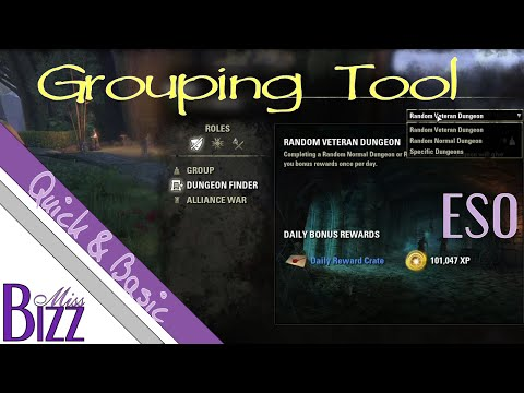 How To Use ESO's Grouping Tool - ESO Group Finder - Elder Scrolls Online Dungeon Finder