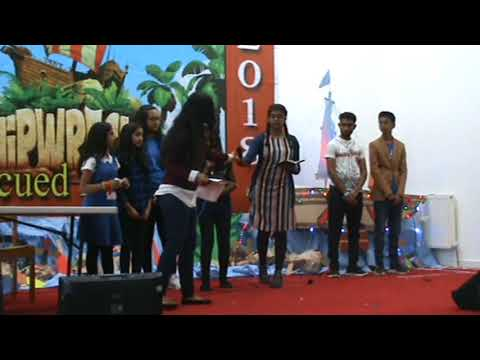 cover to cover/best bible VBS  skit / by kids united shalom christian church Manchester