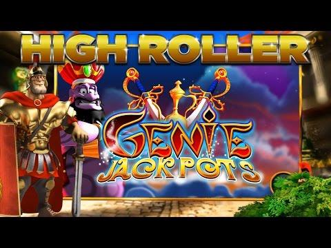 Genie Jackpots £50 Spins!!! High Roller Bookies Slots