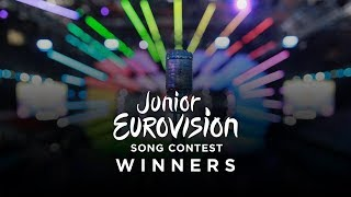 Junior Eurovision Song Contest Winners | 2003 - 2017