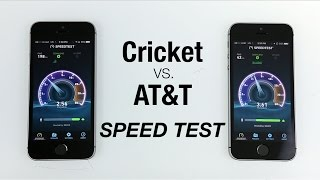 Cricket vs. AT&T Data Speed Test!
