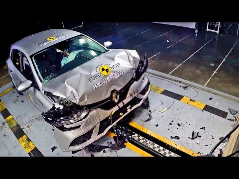 Renault Mégane 4 (2016) CRASH TEST